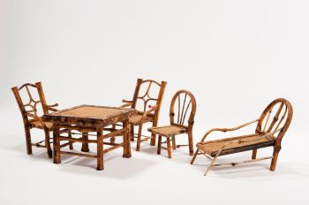 Bamboo toy furniture