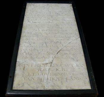 Flinders Commemorative Plaque