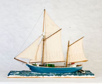 Ship model, Annie Watt