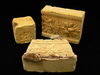 Moulded bricks from the Nashwauk