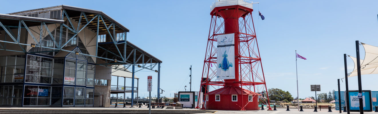 A photo of the Port Adelaide Lighthouse