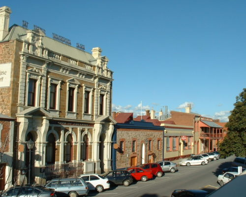Photo of building on Lipson Street, Port Adelaide