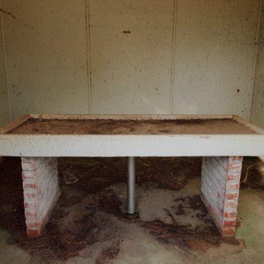 Quarantine Station medical table