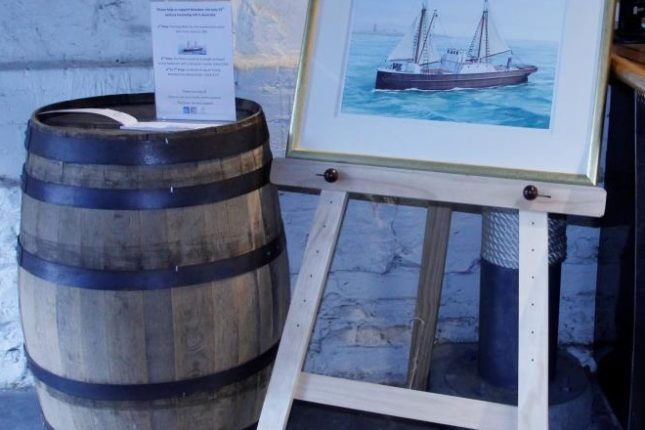 First Prize: Nelcebee water colour painting by John Ford